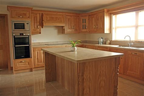 Designs For Kitchens by Character Oak Kitchen Fitted In Ardee Ireland