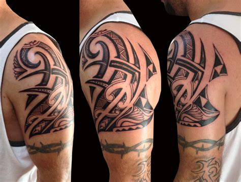 maui tribal tattoos polynesian by trevor kennedy tattoonow