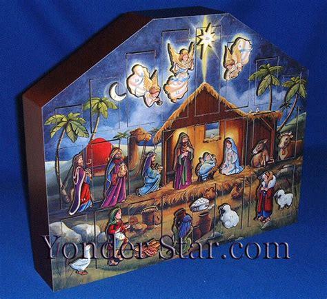 printable nativity scene advent calendar heirloom wooden advent calendar nativity scene