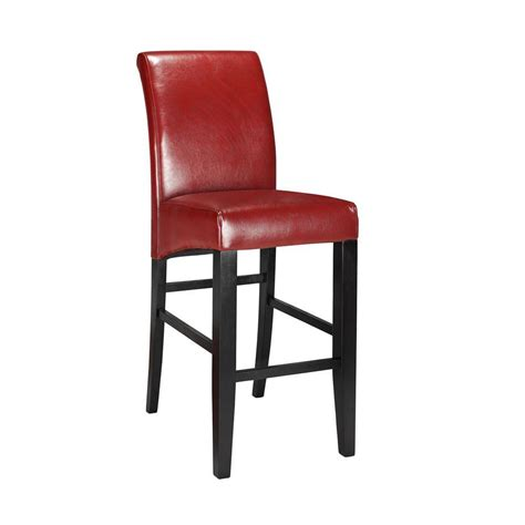 home decorators collection bar stools home decorators collection parsons 30 375 in red