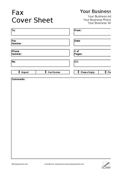 fax cover sheet doc 432561 sle basic fax cover sheet free fax cover