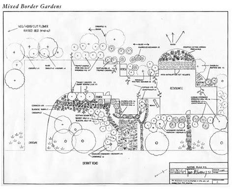 Landscape Design Blueprint Hilltown Tree And Garden Portfolio Mixed Formal Gardens