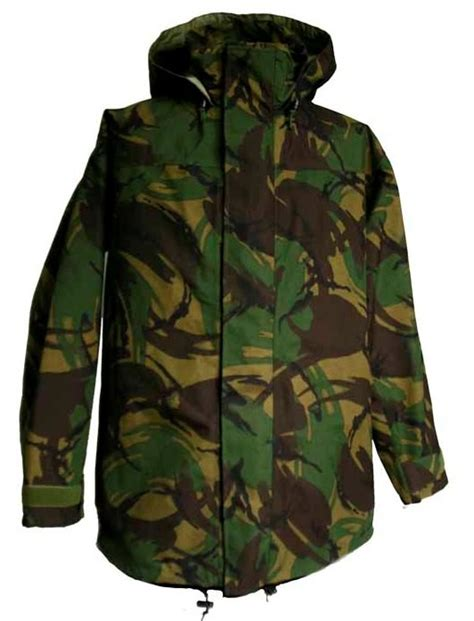 Jaket Camo Army army camouflage foul weather waterproof jacket