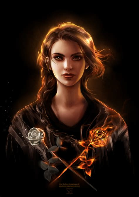 hunger games katniss everdeen by daekazu on deviantart