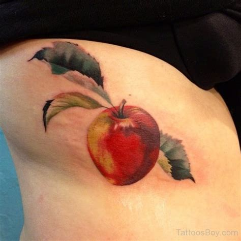 apple tattoos fruit tattoos designs pictures page 2