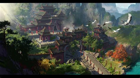 taoist temple2 by dawnpu on deviantart