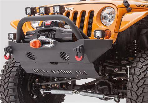 jeep body armor bumper amazon com body armor 4x4 jk 19532 black steel mid