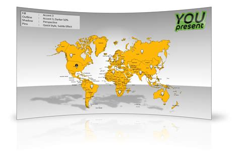 editable world map template for powerpoint bric countries slidemodel