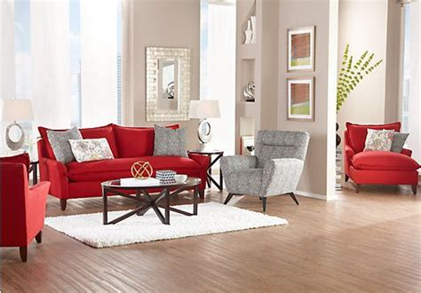 shop for a sofia vergara catalina ruby 7 pc living room at