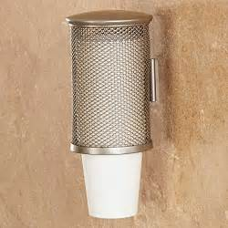 wall mounted cup dispenser