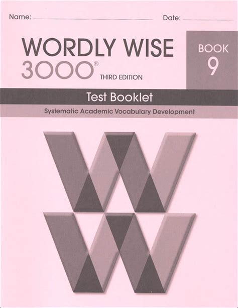 test answer sheets wordly wise story of the world wordly wise 3000 3rd edition test book 9 054839 details