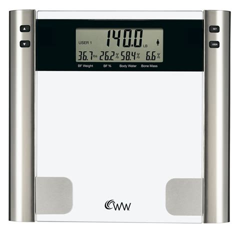 weight watchers glass digital bathroom scale lowe s canada