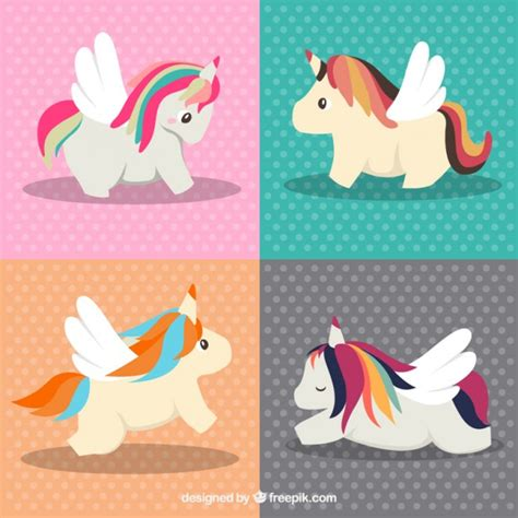 descargar imagenes de unicornios gratis adorables unicornios en diferentes poses descargar