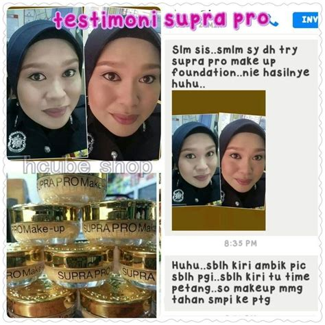Harga Foundation Make No 2 supra pro make up foundation harga murah original
