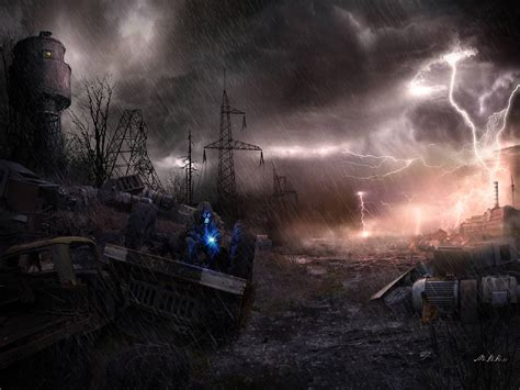 world of lighting ta post apocalyptic backgrounds wallpaper cave