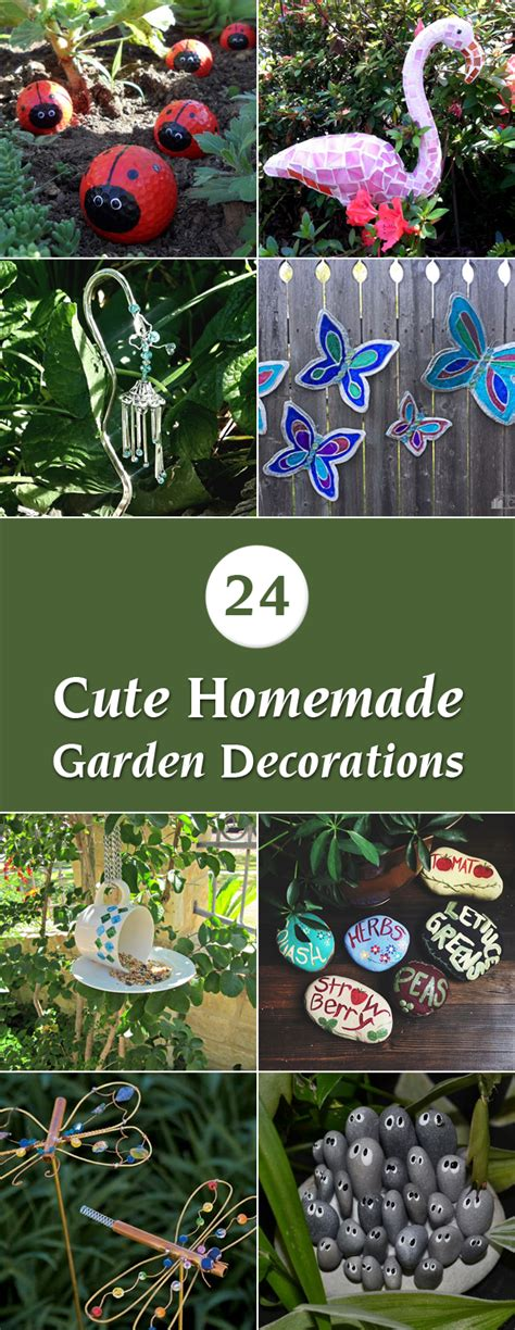 Craft Ideas For Garden Decorations 24 Garden Decorations