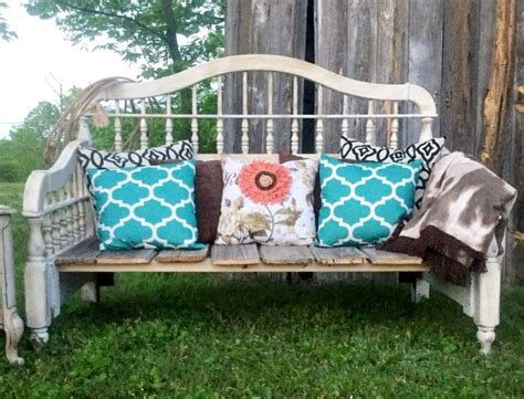 cup half diy headboard inspiration diy headboard upcycled bench a rustic inspired project