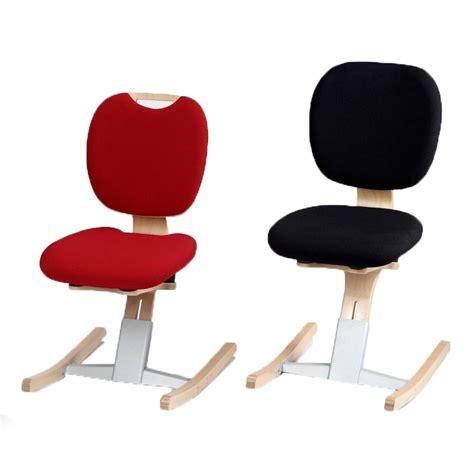 chaise de bureau  bascule assise haute