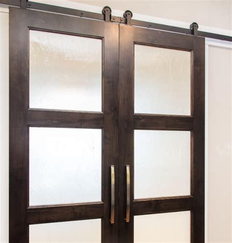 sliding barn doors in the office new hardware