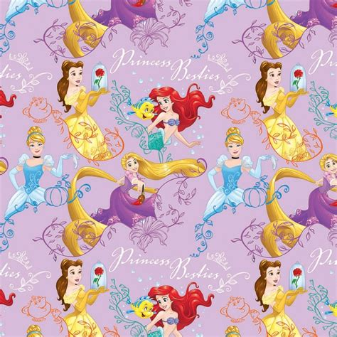 character wrapping paper disney princess 3m gift