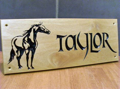 stable signs stable signs horse name plates plaques