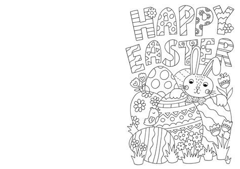 easter card templates to colour free easter card colouring hobbycraft