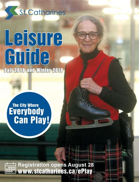 st catharines fall winter  leisure guide
