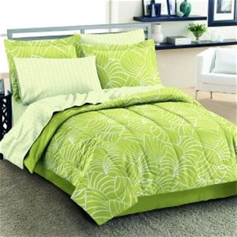 lime green comforter set comforter lime green white leaves bedding plants