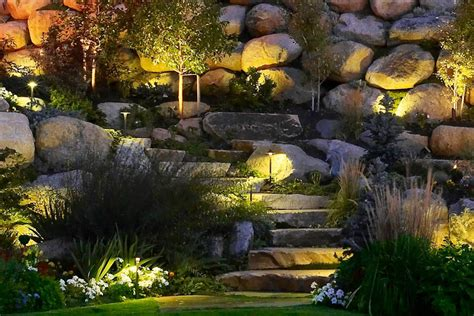 Landscape Lighting Utah Pathway And Step Lighting Ideas And Pictures