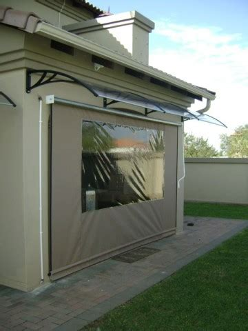 canvas awning blinds canvas gearbox blind with awning superior shades and canvas