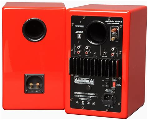 aktimate mini b active speakers pair at audio affair