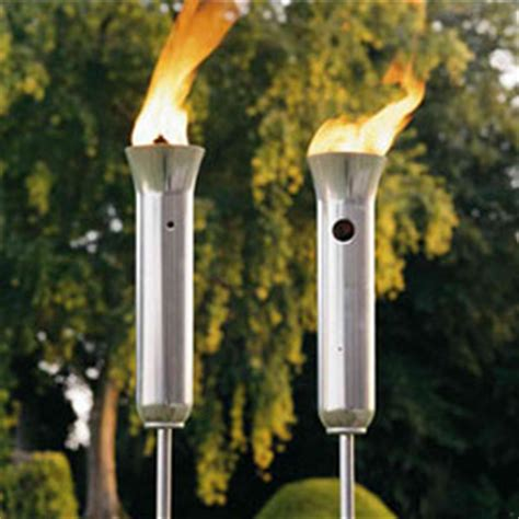 olympic torch propane patio torches the green