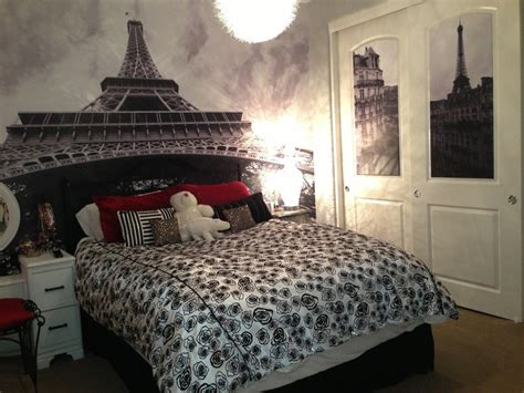 bedroom extraordinary wall decal inside eiffel tower decor