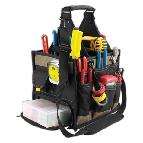 Electrical And Maintenance Tool Carrier Work Gear Pocket Tool Pouch kuny s sw 1528 23 pocket large tool carrier