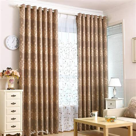 striped living room curtains brown floral striped jacquard living room curtains