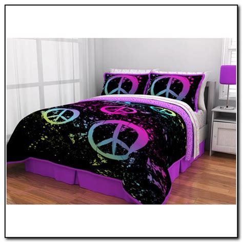 peace sign bedroom girls peace sign bedding beds home design ideas