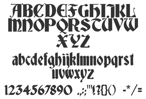 deutsch gothic font download free preview font deutsch gothic calligraphy fonts medieval medieval calligraphy fonts