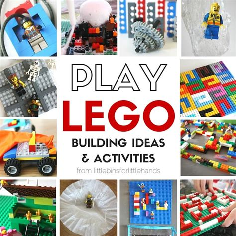 lego challenges for children lego activities and steam challenges for