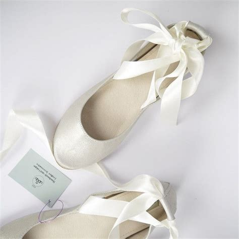 Cremefarbene Ballerinas Hochzeit by See This And Similar Flats I Will Be Delighted To