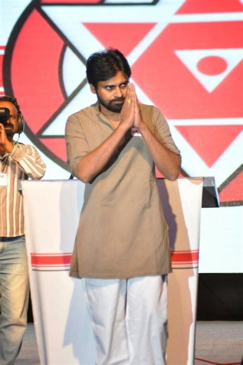 a view on pawan kalyan party s flag and song wishesh special picture 677869 pawan kalyan s jana sena party launch in