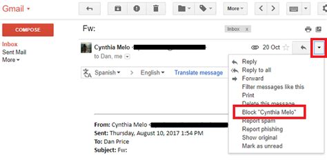 Search By Email Block How To Block Emails In Gmail