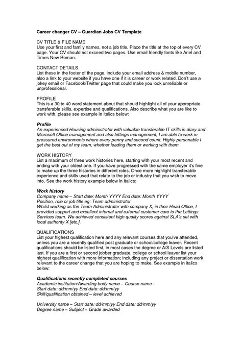 school leaver resume exle school leaver resume free excel templates