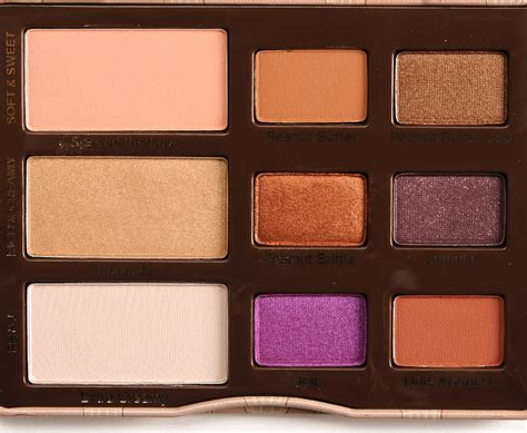 Eyeshadow Jelly faced peanut butter jelly eyeshadow palette review photos swatches