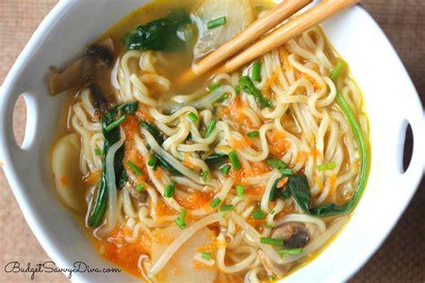 Handmade Ramen Noodles - easy ramen recipe budget savvy