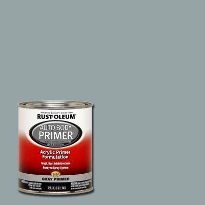home depot paint quart price rust oleum automotive 1 qt auto primer gray paint