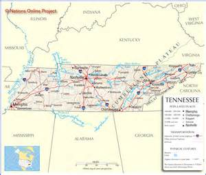 Tennessee Map With Cities And Towns by Classmates In Tennessee