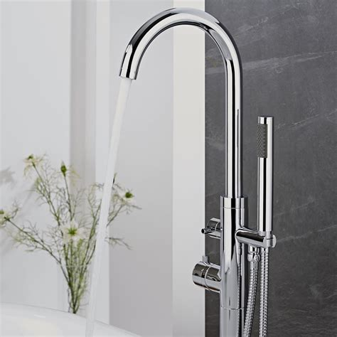 Get The Look Designer Chic Big Bathroom Shop Bathroom Shower Mixer Taps