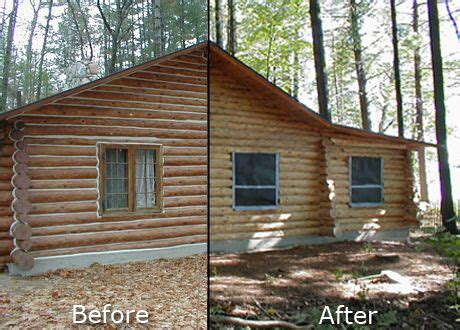 painted log homes exterior home painting