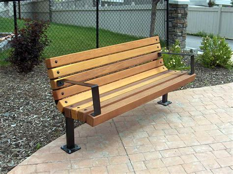 picture of a park bench outdoor park bench design plans tips before making a