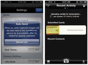 best iphone app for business card scanning cardmunch is probably the best business card scanning app